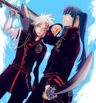 D Gray Man by NaruOc