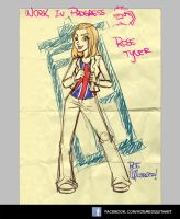 Rose Tyler - W.I.P by roemesquita