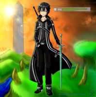 Sword Art Online - Kirito by Kazimerus