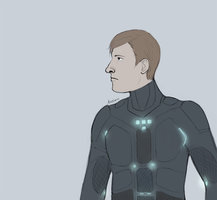 TRON Now with More Bruce by JamieKinosian