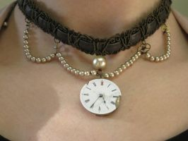 Steampunk Necklace by DifferentFree