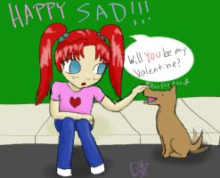 Happy SAD by Dragonastra
