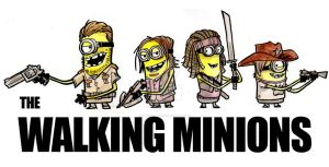 The Walking Minions by SpencerPlatt