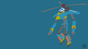 Mighty No 6 Minimalist by turpinator77