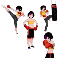 /You fight like a girl/ by sibandit