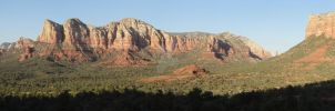 Sedona Arizona Panorama at Sunset by climber07