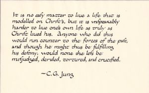 Jung quote: imitation of Christ by studentofrhythm