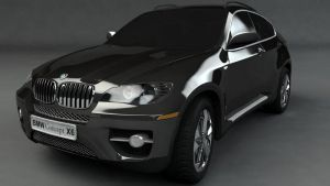 BMW X6 by majinlogan
