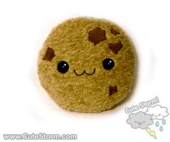 Chipper Chocolate Chunk Cookie Plushie :3 by The-Cute-Storm