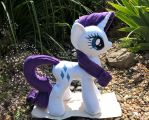 Rarity Minky Plush Side 1 by JusticeOfElements