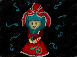 Sweet Little Hina by StitchCometCreations