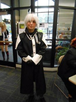 Allen Walker Cosplay Anime Day by ThreeCuts3x3