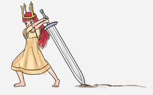 Daily Doodle #7 - Child Of Light by Mr-Sage