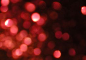 Stock texture - red Bokeh by rockgem