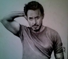 Robert Downey Jr 1. by rrlknrd