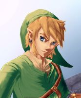 Link skyward sword by ZaloHero