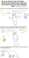 Mary Sue-ification Meme! by RussianSunflowers