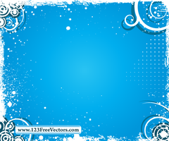 Swirl Grunge Frame Vector by 123freevectors