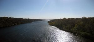 Mississippi River Panorama by Austron