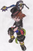 Sora the Madhatter-Himself by MadHatter-Himself