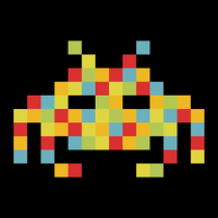 Space Invaders On Drugs by GRlMGOR