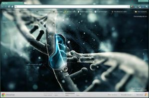 DNA Google Chrome Skin by vrkm2003