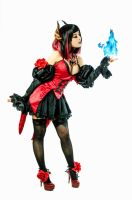 Eliza - Female Vampire - Tekken Revolution by azulettecosplay