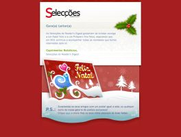 SRD Xmas eCard newsletter by Skeware