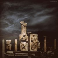 Ancient Ephesus by lostknightkg