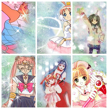 Magical Girls by pockypants
