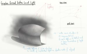 3.9 Complex Curved Surface, Local Lighting by theThirdCartel