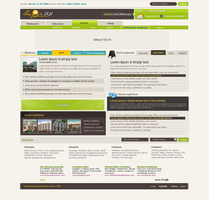 Portal design - home page by goodghost1980