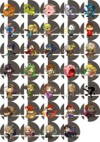 super smash bros buttons [updated] by hasuyawn