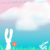 Lonely BUnny by bunnify