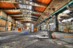 Inside a lost factory by alcatobe
