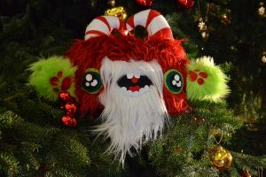 A monstrous christmas by Mias-Munchkins