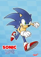Sonic the Hedgehog by Chadfuller