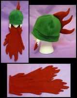 Kraken Hat+Scarf Combo by FishingForBirdies