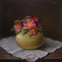 Flowers in the vase by marcheba