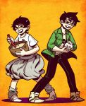 Homestuck:: new kids by Shilloshilloh