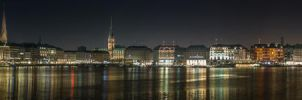 Hamburg Alster by wolfgangbuhr
