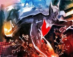Batman Beyond by EvanBryce