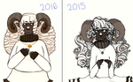 2016 Vs 2015 by ghost-pun