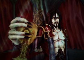 In the name of the lord of the shadows by Mad-Hatter----X
