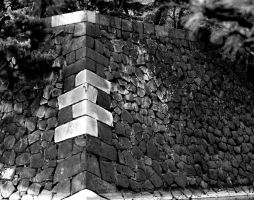 corner of a wall by verseless