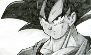 GOKU by Speed Drawing Italia by Speeddrawingitalia