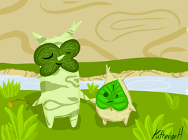 Linder and Makar by Katfuzzmunchkin