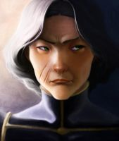 Chief Beifong by vagrant-angel