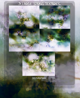 5 Large textures set SPRING by RubyRises