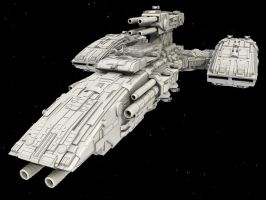 WiP4: BattleCruiser by AceDarkfire